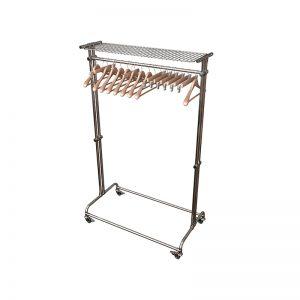 Вешалка на 20 плечиков с сеткой для головных уборов цена: 8,900.00 ₽