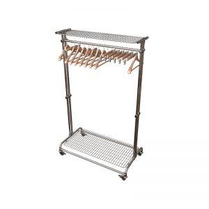 Вешалка на 20 плечиков с сеткой для головных уборов цена: 10,230.00 ₽