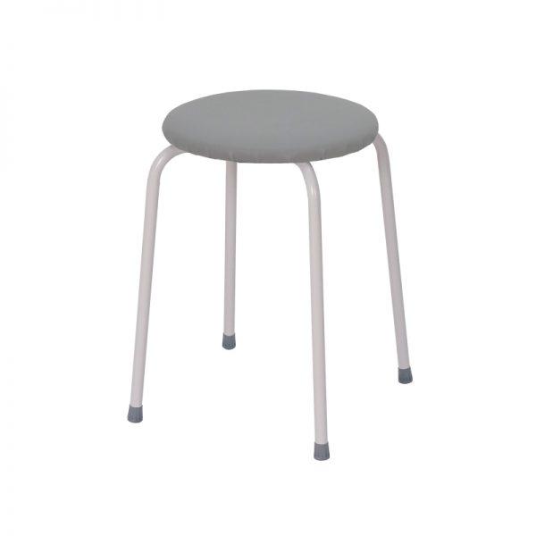 Табурет круглый «Пенёк легкий» 180 цвет: Серый