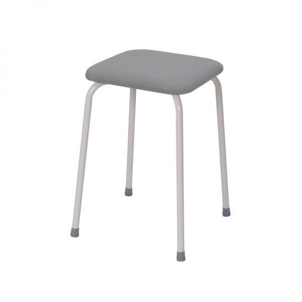 Табурет квадратный «Пенёк легкий» 184 цвет: Серый