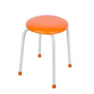 Круглый табурет «Пенёк крепкий» 220 цвет: Оранжевый